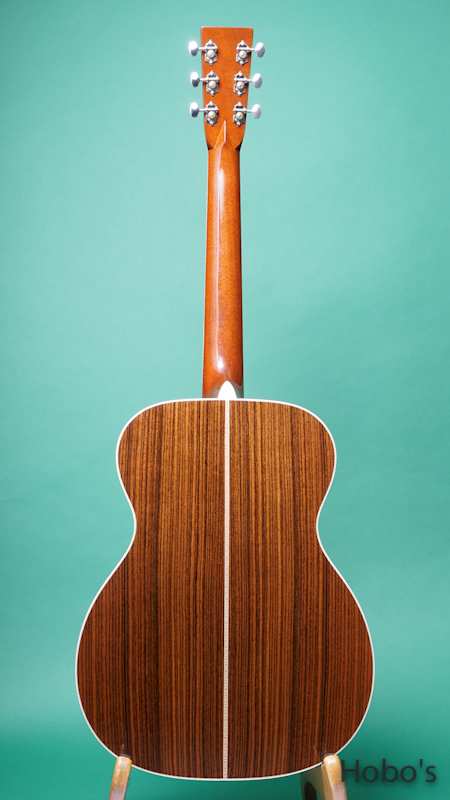 "MARTIN OM-42 Custom ""Itarian Alpine Top""  BACK"