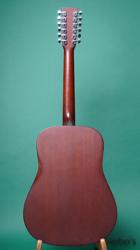 """MARTIN DM12 """"12 Strings Guitar""""  BACK"""