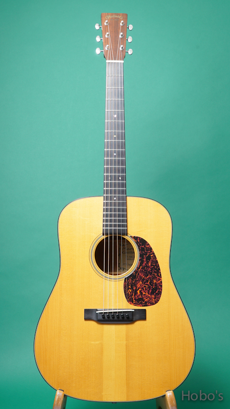"MARTIN D-18 Custom ""Bear Claw Sitka / Quilted Mahogany"""