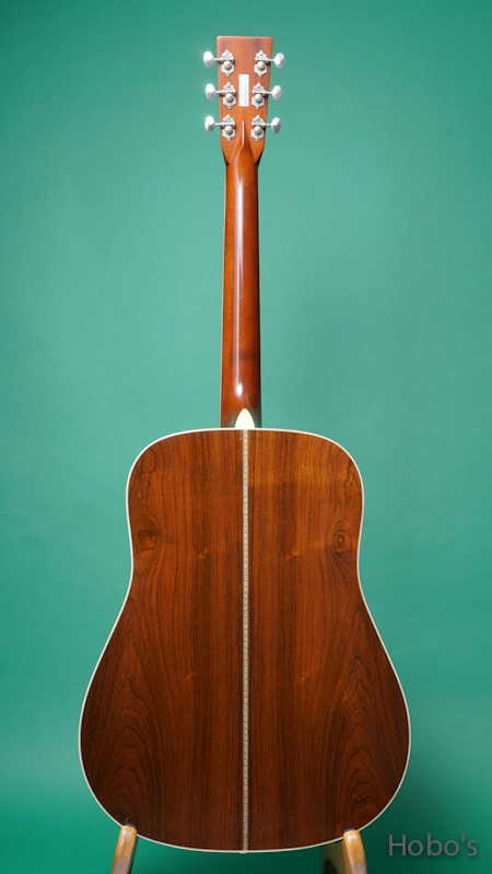 """MARTIN D-28CWB """"Clarence White Commemoretive Edition""""   BACK"""