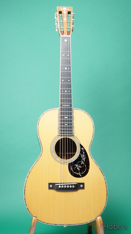 "MARTIN OO-45 Deluxe Custom ""Adirondack / Madagascar"" FRONT"