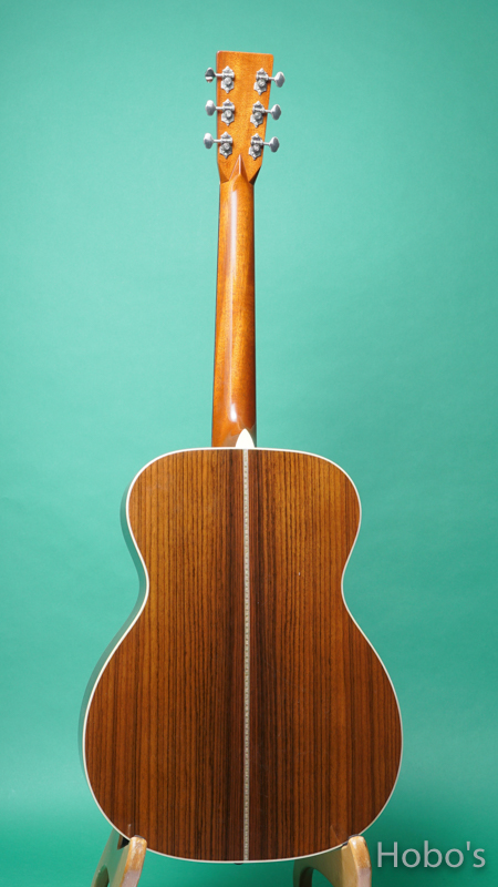 "MARTIN OOO-28EC ""Eric Clapton Signature Model""  BACK"