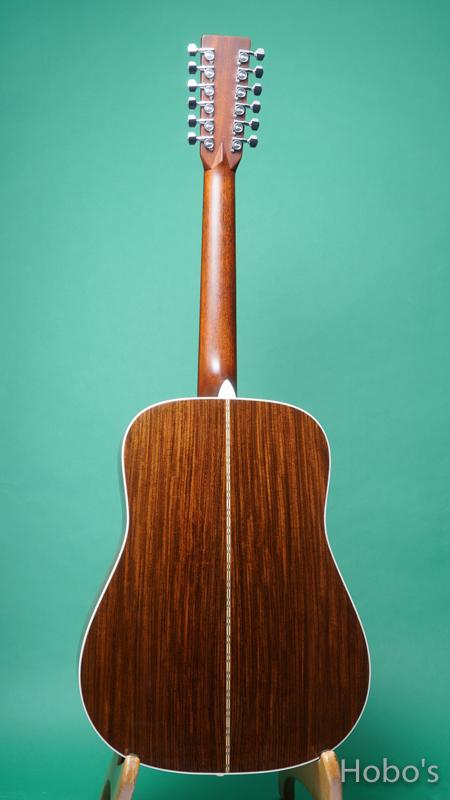 """MARTIN D12-28 """"12 Strings Guitar""""  BACK"""