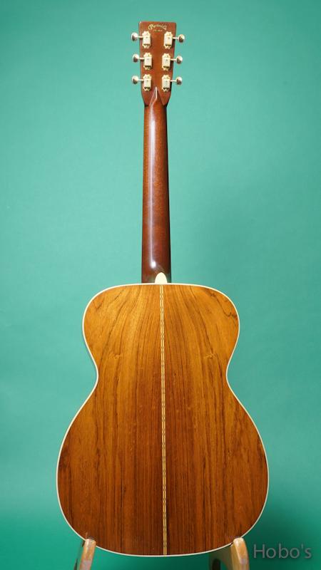 "MARTIN OM-28 SB Custom ""Brazilian Rosewood"" BACK"