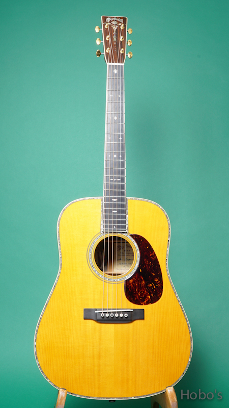"""MARTIN D-45 Mike Longworth """"Commemorative Edition"""" FRONT"""