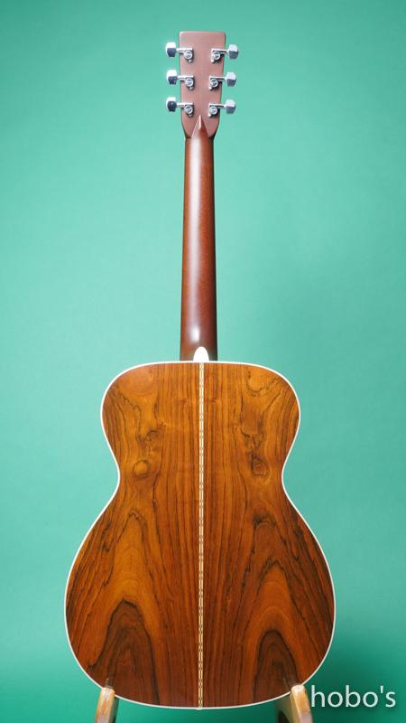 "MARTIN OM-28 Custom ""Engelmann / Brazilian Rosewood""   BACK"