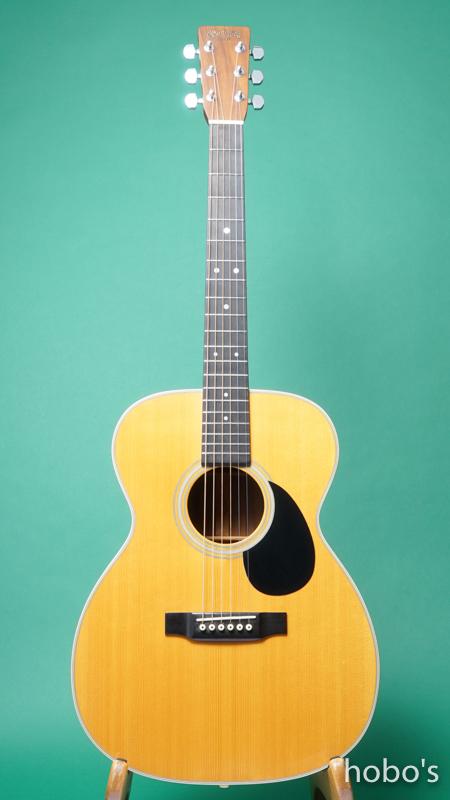 "MARTIN OM-28 Custom ""Engelmann / Brazilian Rosewood""   FRONT"