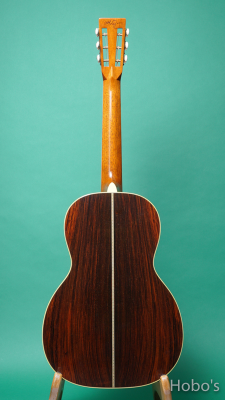 "MARTIN OO-42SC ""John Mayer Stagecoach Edition""   BACK"