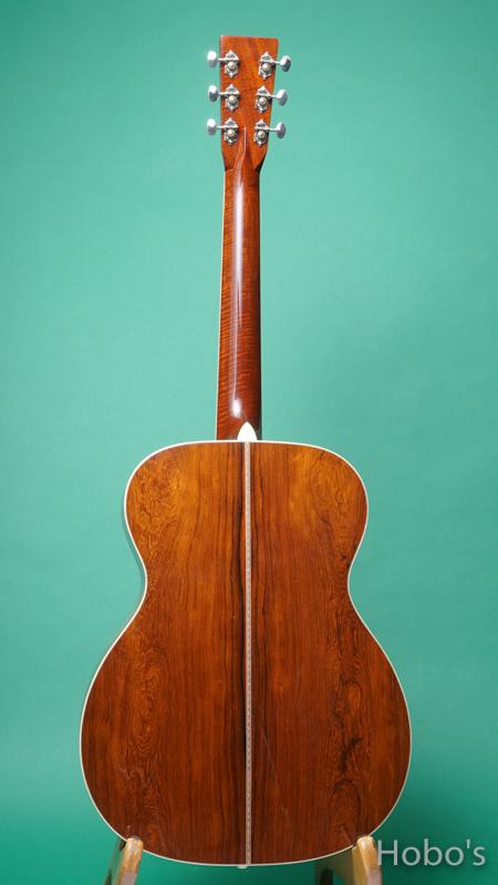 "MARTIN OOO-42ECJM ""Eric Clapton Custom Edition""    BACK"