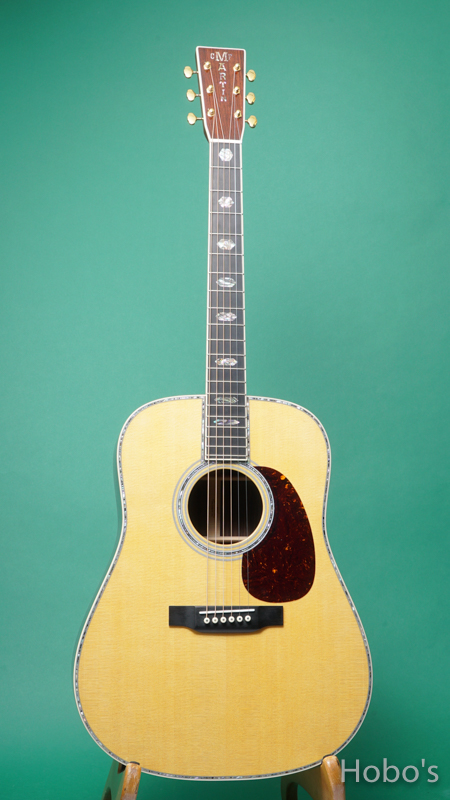"""MARTIN D-45 """"正規輸入品"""" FRONT"""