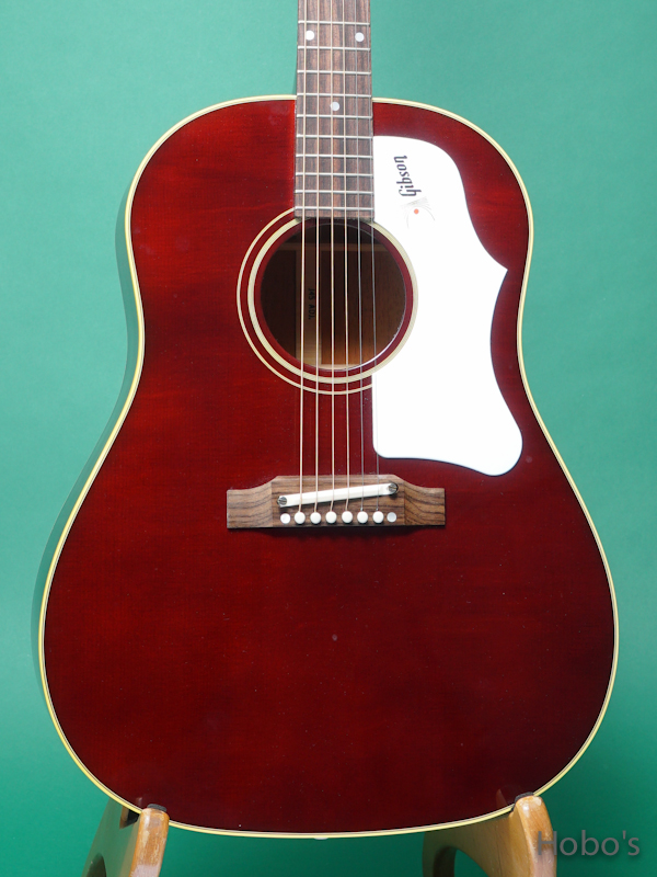 GIBSON J-45 1960's Wine Red  5