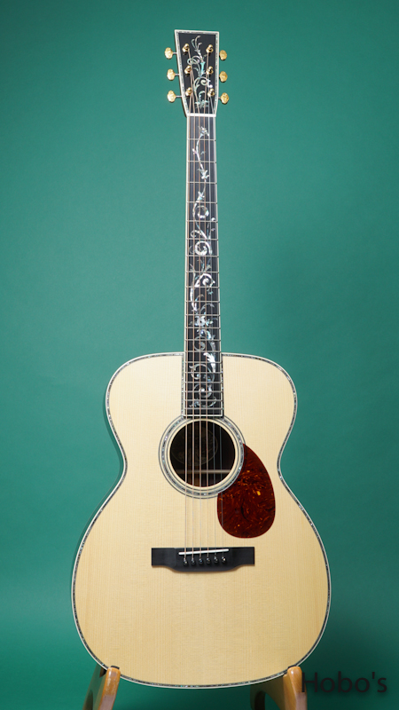 "COLLINGS OM-42 A Custom ""Tree Of Life""  FRONT"