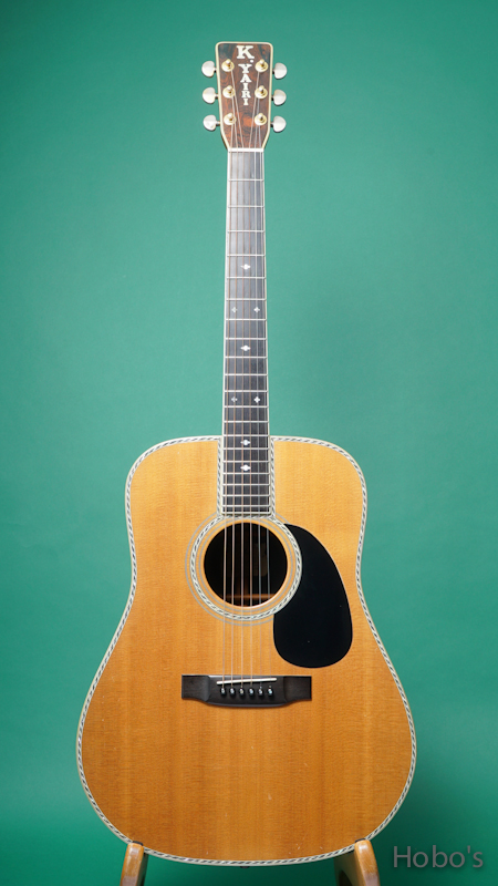 "K.YAIRI DY-45 Custom ""Brazilian Rosewood"" FRONT"