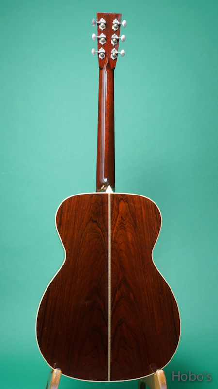 COLLINGS OM-2H Baa Custom BACK