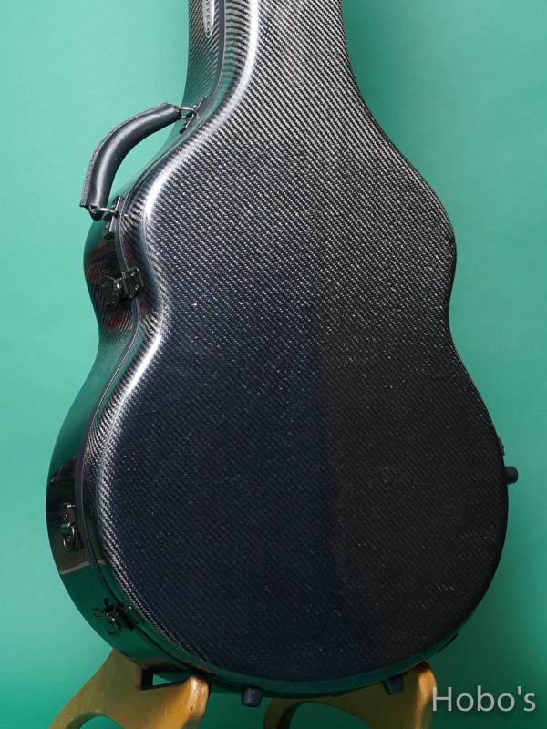 Hoffee Carbon Fiber Case D Black / Green D-Ring 5