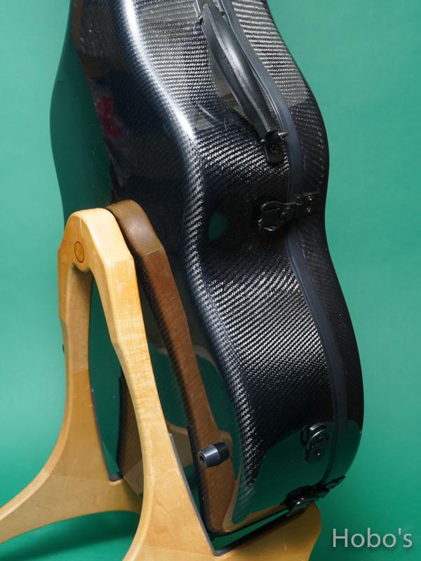 Hoffee Carbon Fiber Case D Black / Green D-Ring 7