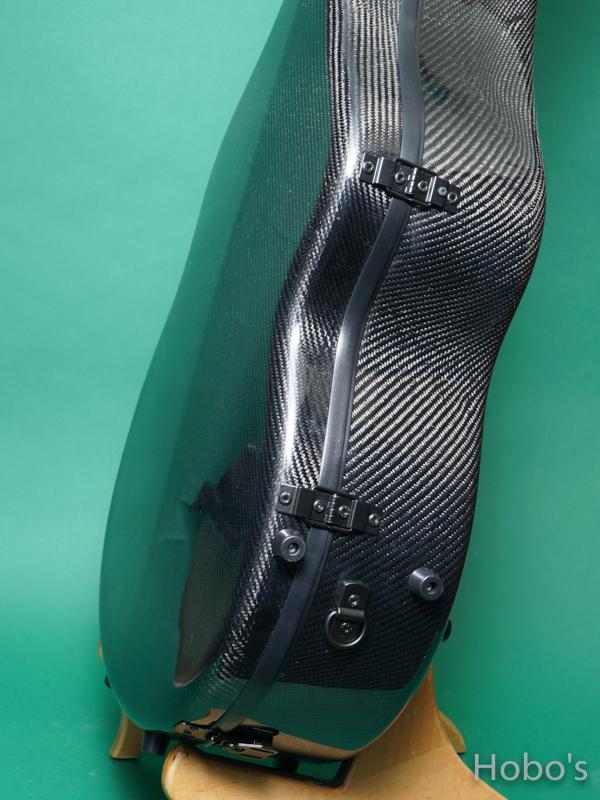 Hoffee Carbon Fiber Case D Black / Green D-Ring 8