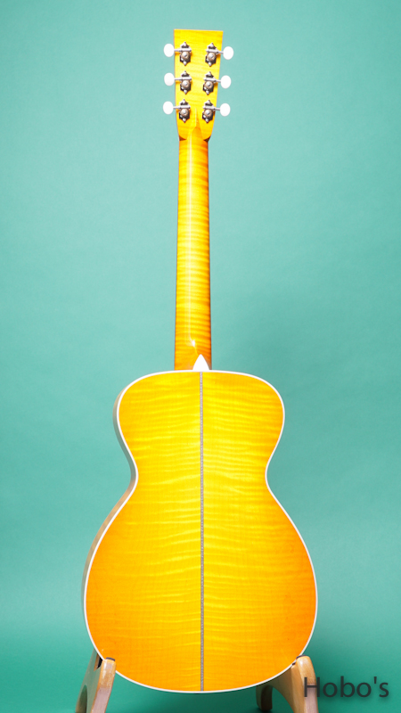 """COLLINGS Baby-2H Maple Custom """"Tangerine Full Sunburst""""  BACK"""
