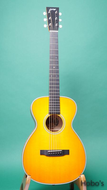 """COLLINGS Baby-2H Maple Custom """"Tangerine Full Sunburst""""  FRONT"""