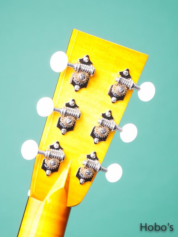 """COLLINGS Baby-2H Maple Custom """"Tangerine Full Sunburst""""  2"""