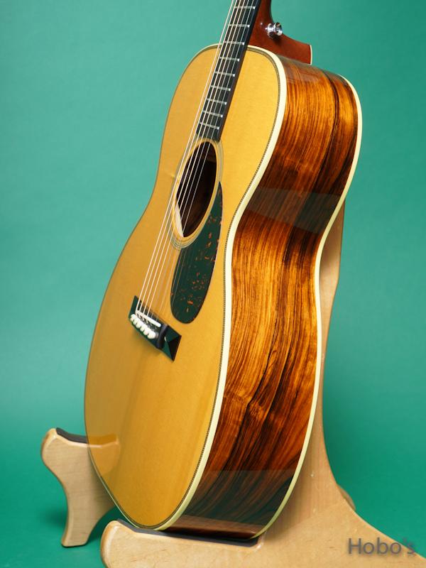 "Bourgeois Vintage OM Custom ""Adirondack /Brazilian Rosewood""  8"