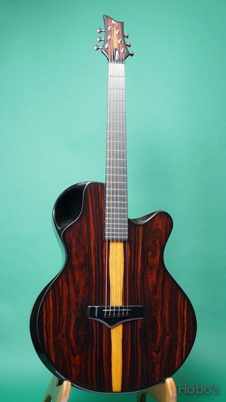 "Emerald Guitars X30 Cocobolo ""L.R.Baggs Anthem""    FRONT"