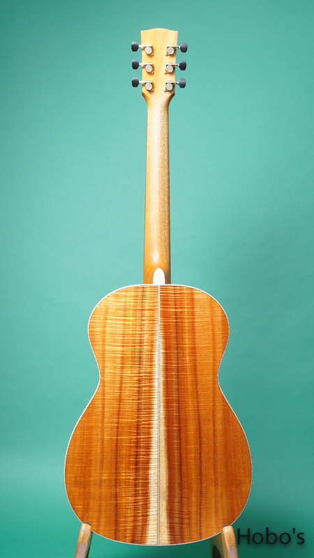 "James Goodall KPK-14 ""Special Reserved Curry Koa"" BACK"