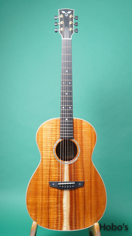 "James Goodall KPK-14 ""Special Reserved Curry Koa"" FRONT"