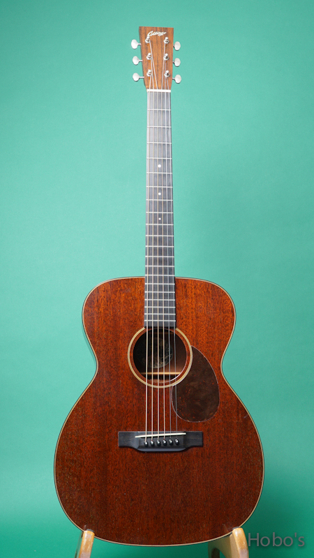 "COLLINGS OM-1 Mh Custom ""All Honduran Mahogany""   FRONT"