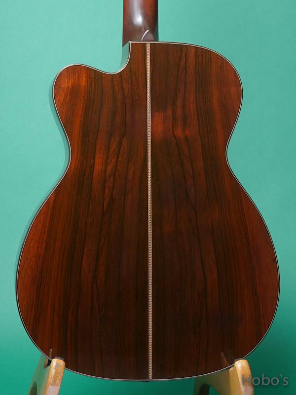 "MERRILL (Jim Merrill) OM-21 Cutaway ""Premium Brazilian Rosewood""  6"