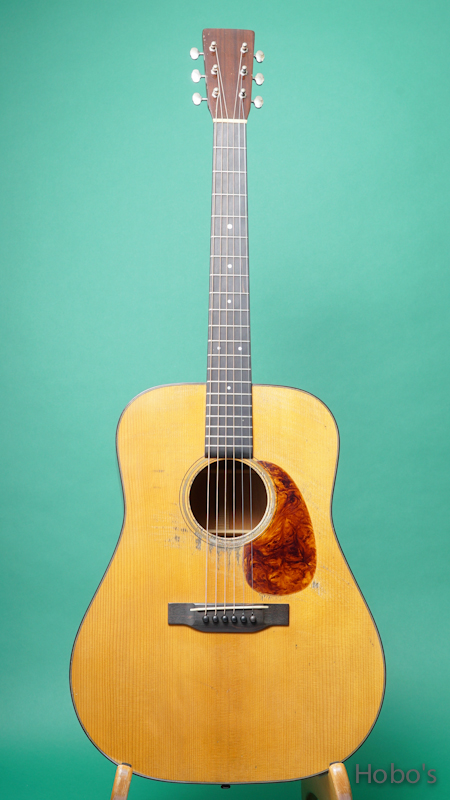 Pre-war Guitars Co. Model D Honduran Mahogany Lebel 2.0 FRONT