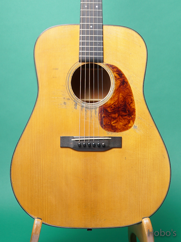 Pre-war Guitars Co. Model D Honduran Mahogany Lebel 2.0 5