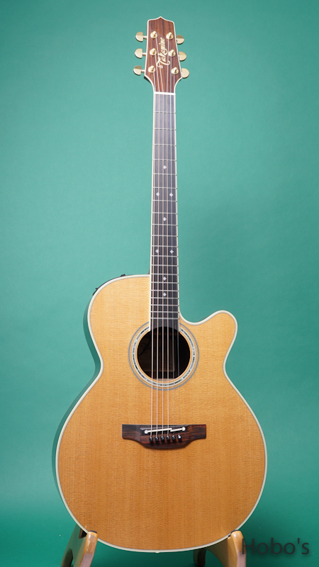"TAKAMINE TDP55H Special Order Made ""象牙ナット&サドル""  FRONT"