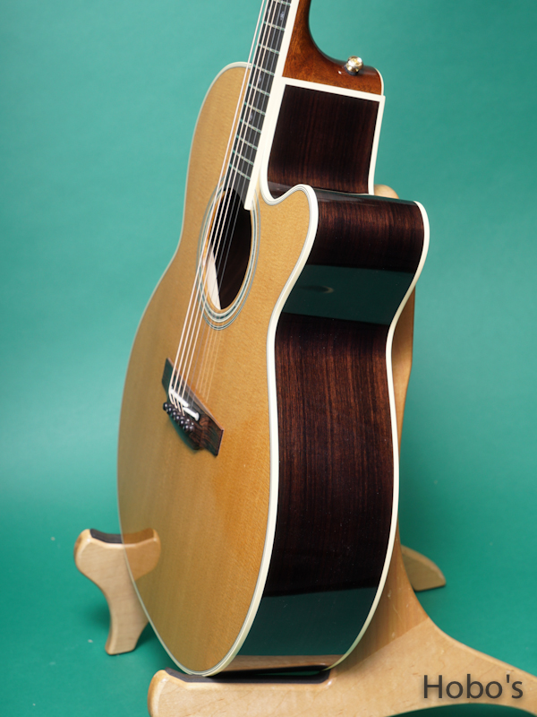 "TAKAMINE TDP55H Special Order Made ""象牙ナット&サドル""  8"