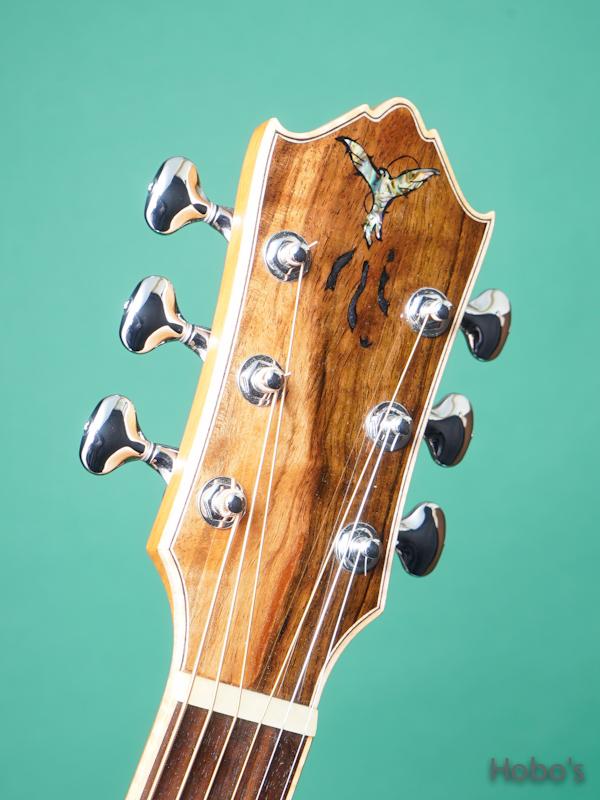"Yoshi Guitar (山村 義成) Model SJ ""Curry Black Walnut""  1"
