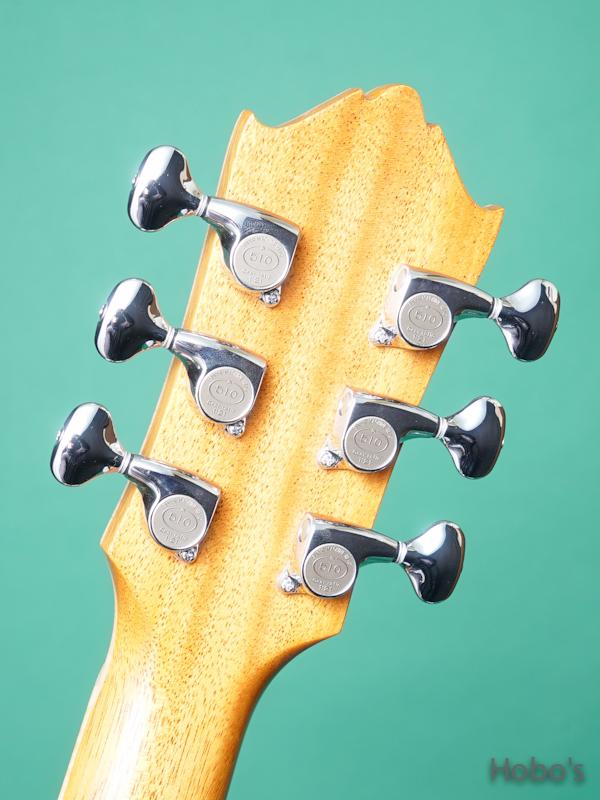 "Yoshi Guitar (山村 義成) Model SJ ""Curry Black Walnut""  2"