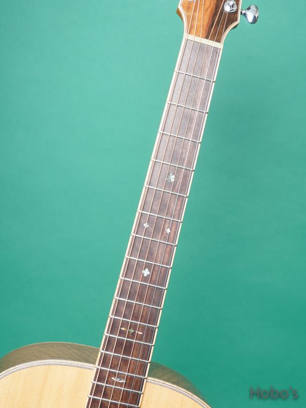 "Yoshi Guitar (山村 義成) Model SJ ""Curry Black Walnut""  3"