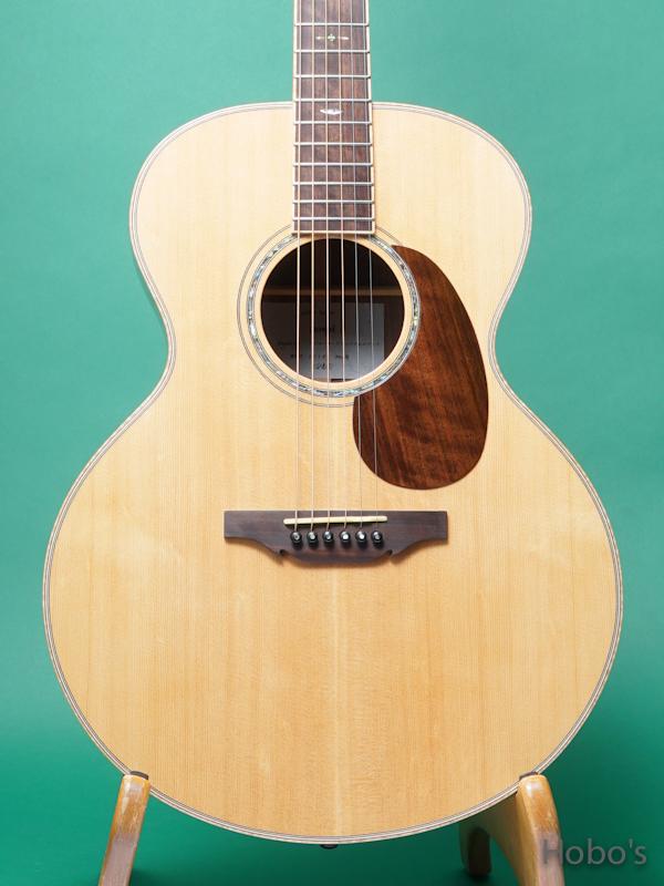 "Yoshi Guitar (山村 義成) Model SJ ""Curry Black Walnut""  5"