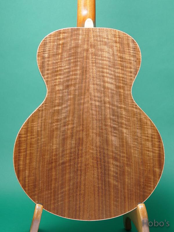 "Yoshi Guitar (山村 義成) Model SJ ""Curry Black Walnut""  6"