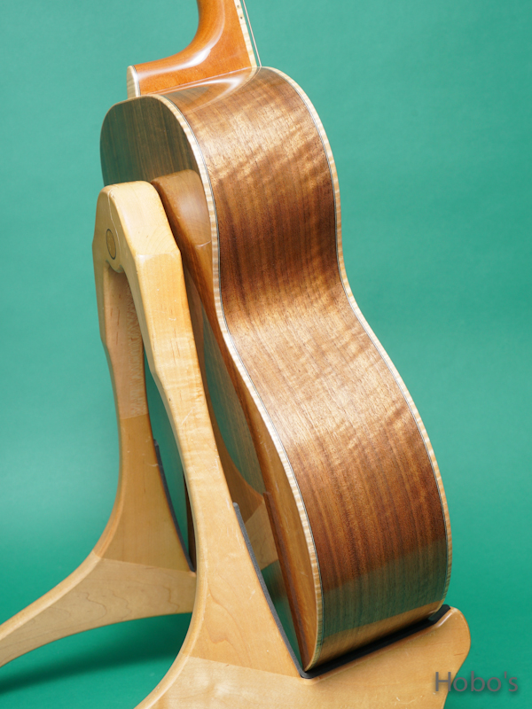 "Yoshi Guitar (山村 義成) Model SJ ""Curry Black Walnut""  7"