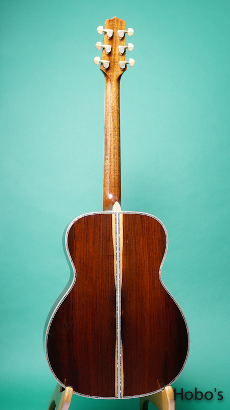 "TAKAMINE PXM-H Custom ""Premium Brazilian Rosewood"" BACK"