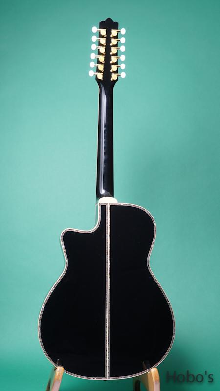 TSK (テリー中本&坂崎幸之助) TSK 12 Strings BLK BACK