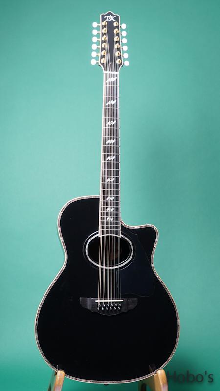 TSK (テリー中本&坂崎幸之助) TSK 12 Strings BLK FRONT