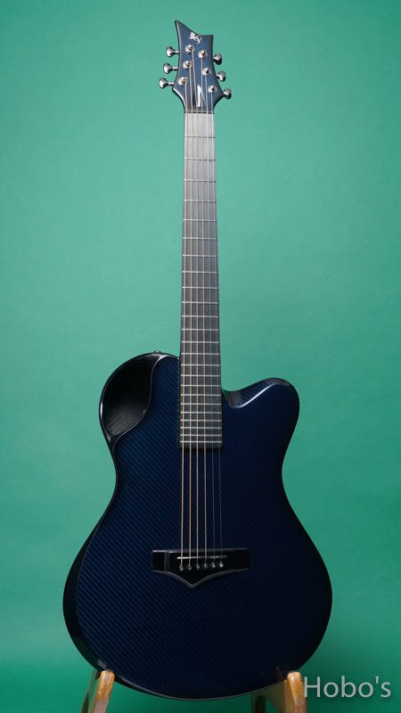 Emerald Guitars X20 Blue FRONT
