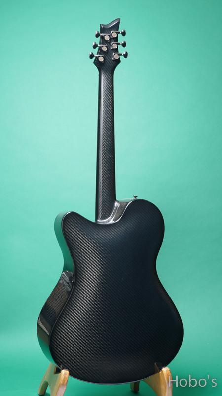 Emerald Guitars X20 Black w/L.R.Baggs Anthem BACK