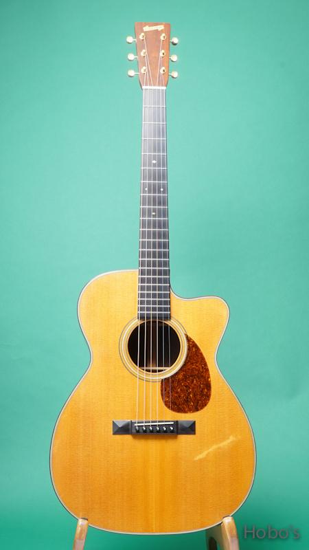 "Schoenberg Guitars (T.J. Thompson)  Soloist Cutaway ""Brazilian Rosewood""   FRONT"