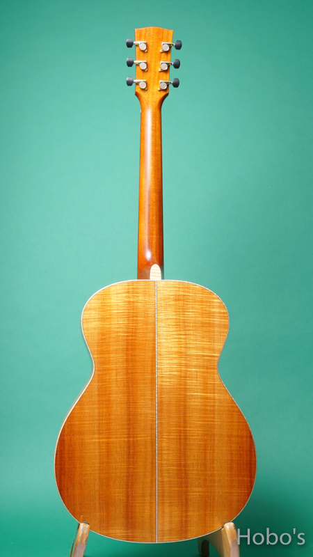 "James Goodall KGCK ""AAAA Curry HawaiIan Koa""  BACK"