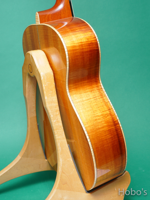 "James Goodall KGCK ""AAAA Curry HawaiIan Koa""  7"