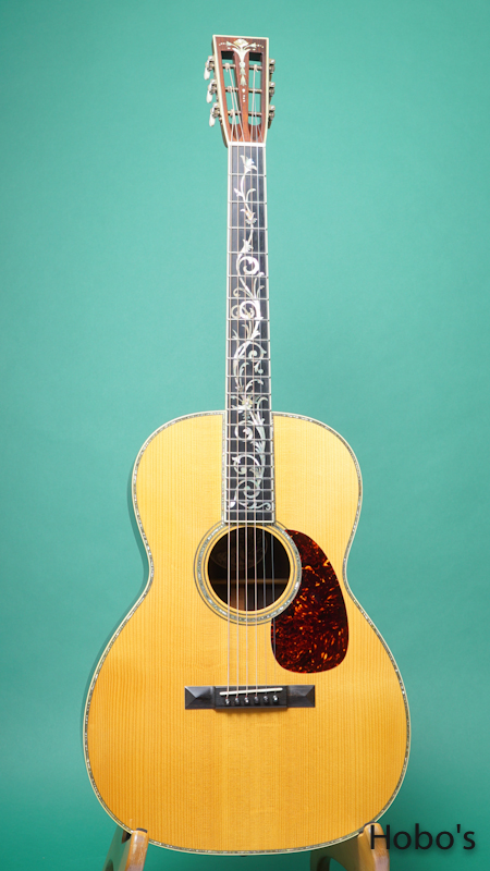 "COLLINGS OOO-42 Tree Of Life Custom ""Brazilian Rosewood"" FRONT"