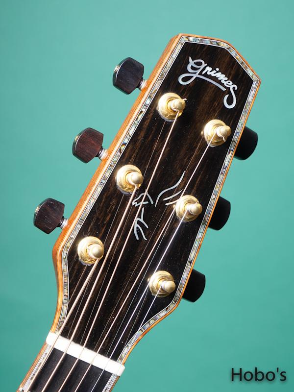 "Grimes Guitars (Steve Grimes) Parlor ""Brazilian Rosewood"" 1"